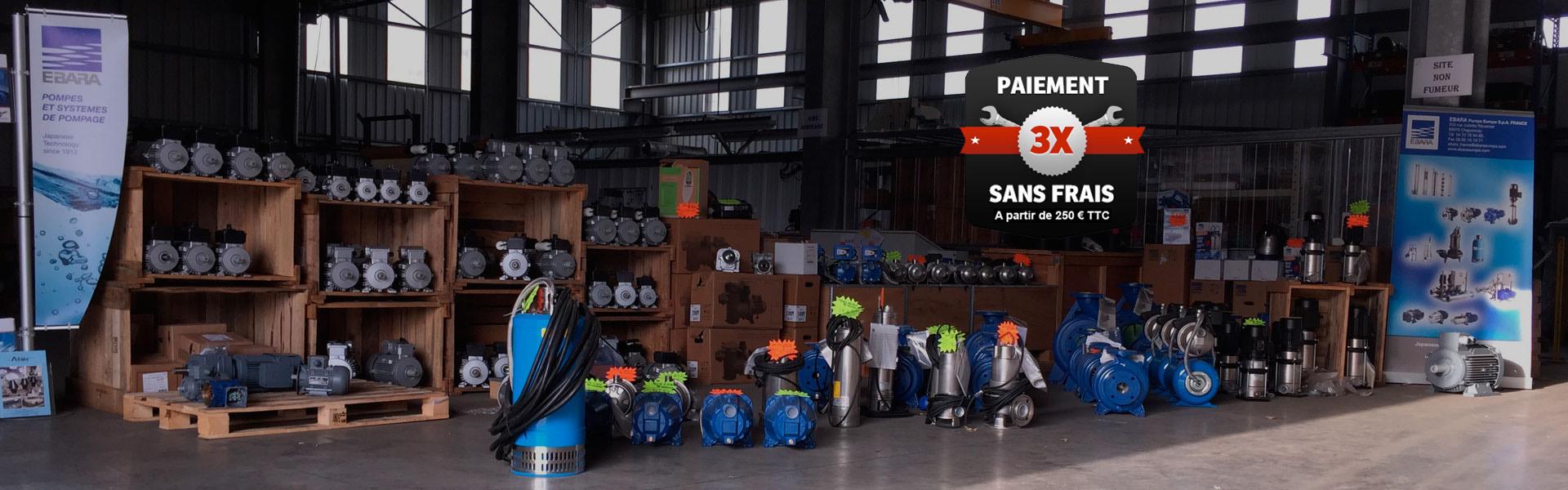 La vente de moteurs électriques avec EMOI