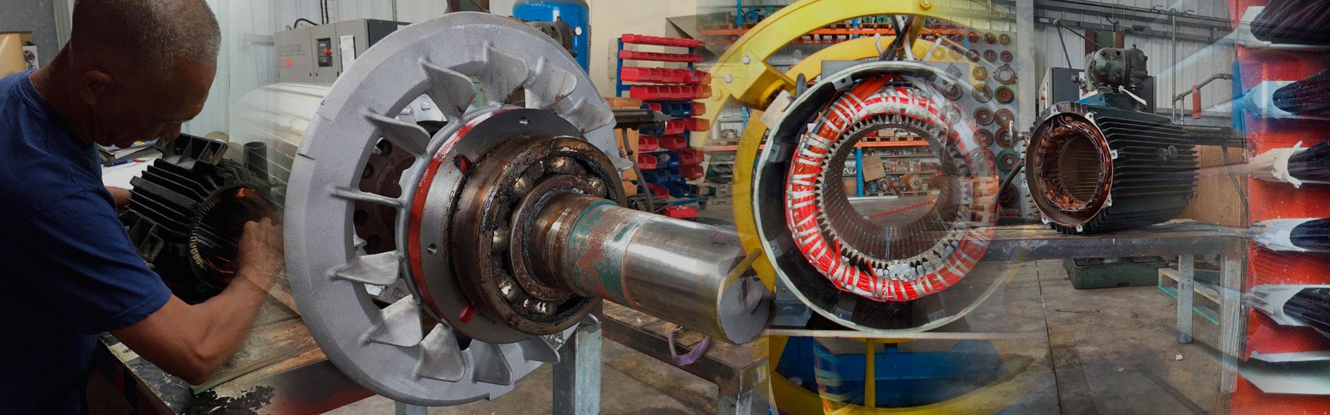 La réparation et le bobinage de vos moteurs électriques